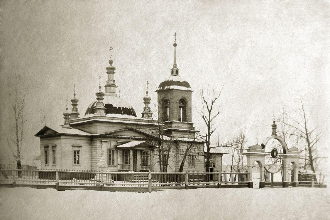 Церковь Успения Пресвятой Богородицы, Реж