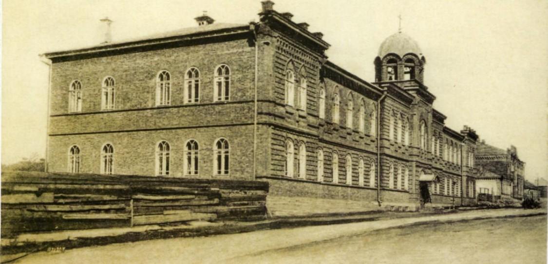 Домовая церковь Константина и Елены при бывшем Духовном училище, Оренбург