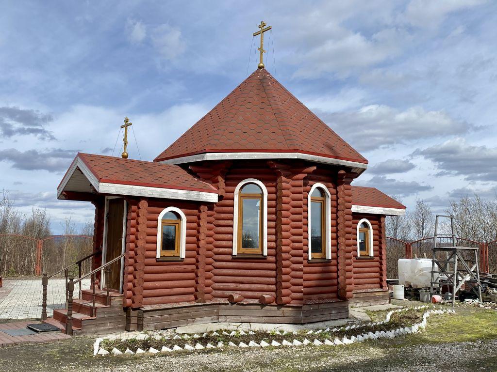 Мурманская область, Мурманск, город, Мурманск. Часовня Петра и Февронии в Восточном, фотография.