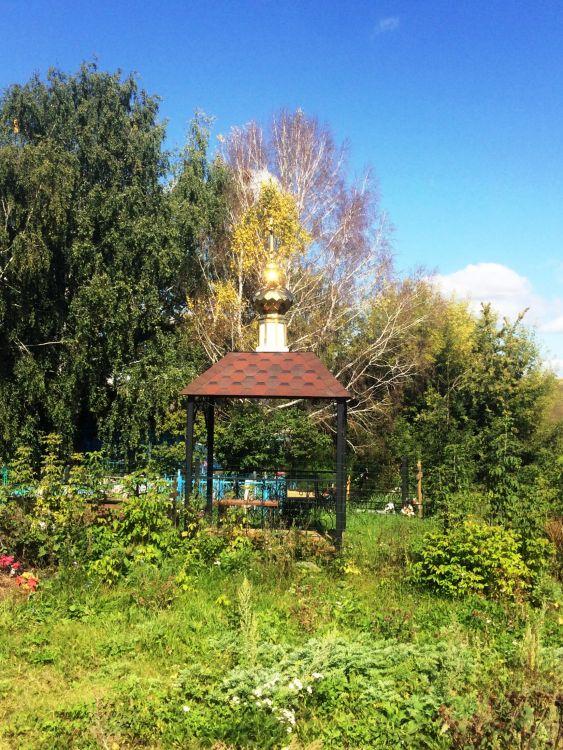Республика Татарстан, Рыбно-Слободский район, Шиланка. Неизвестная часовня, фотография. фасады