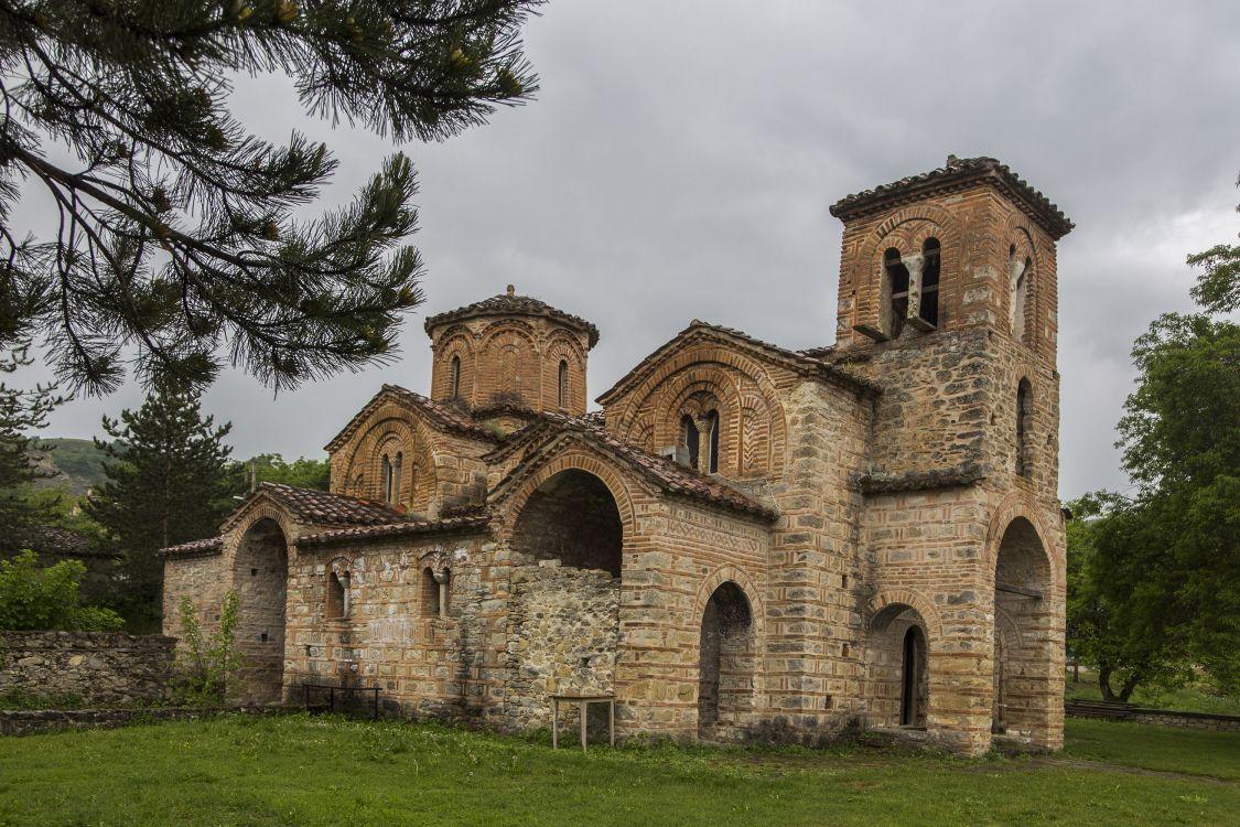 Греция, Эпир и Западная Македония, Оморфоклисия. Церковь Георгия Победоносца, фотография. фасады