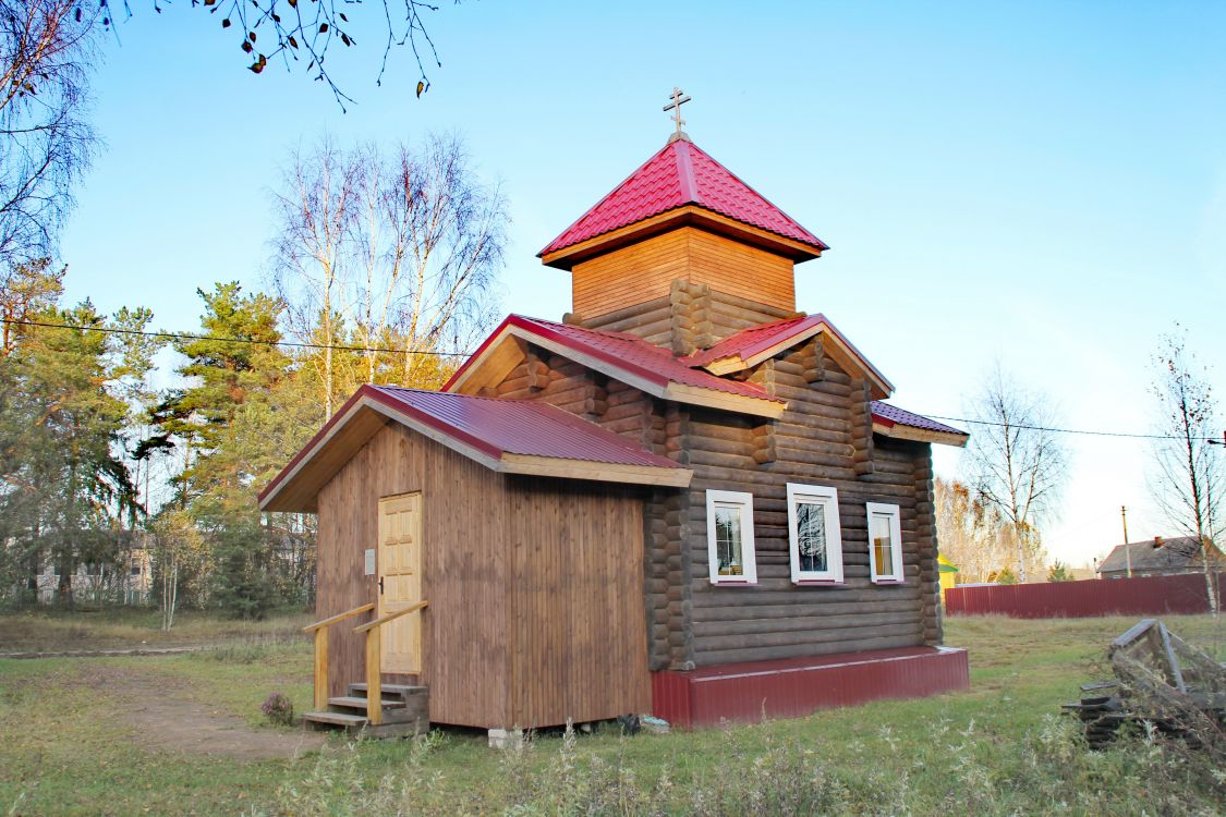 Вологодская область, Кадуйский район, Маза. Часовня Георгия Победоносца, фотография. фасады