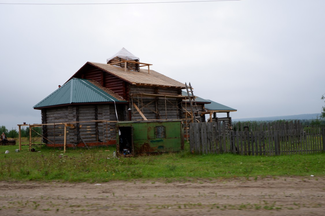 Неизвестная строящаяся церковь, Верхнее Мошево