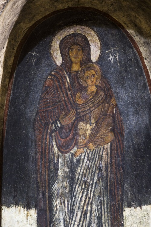 Монастырь Эски Гюмюшлер, Нигде