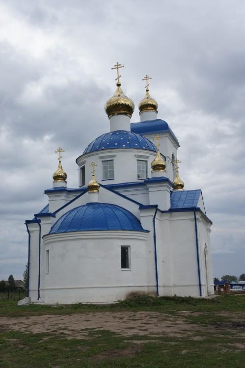 Церковь Успения Пресвятой Богородицы (новая), Балахта