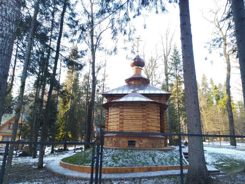 Неизвестная церковь, Абрамцево