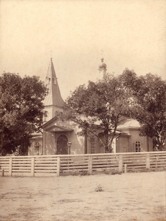 Церковь Николая Чудотворца (старая), Северская