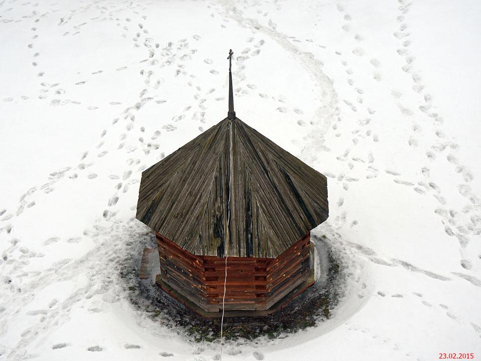 Михаило-Архангельский монастырь. Надкладезная часовня, Юрьев-Польский
