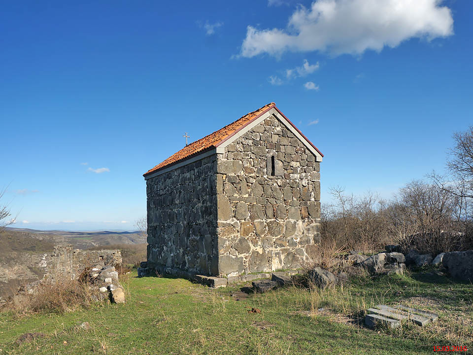 Неизвестная церковь, Самшвилде