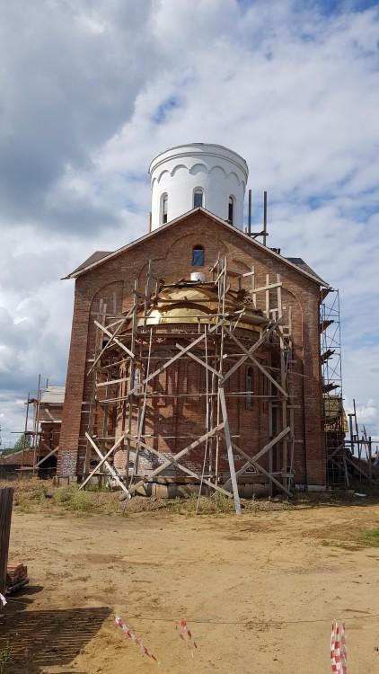 Церковь Троицы Живоначальной (новая), Казачинское