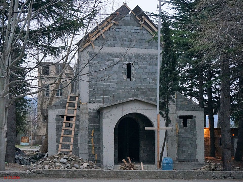 Неизвестная церковь, Мцхета