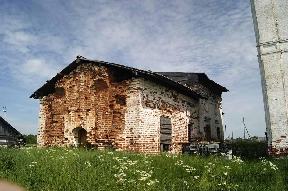 Церковь Николая Чудотворца (старая), Весляна