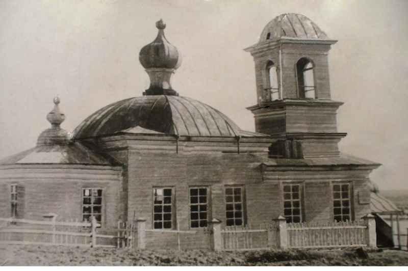 Церковь Троицы Живоначальной, Большое Галово
