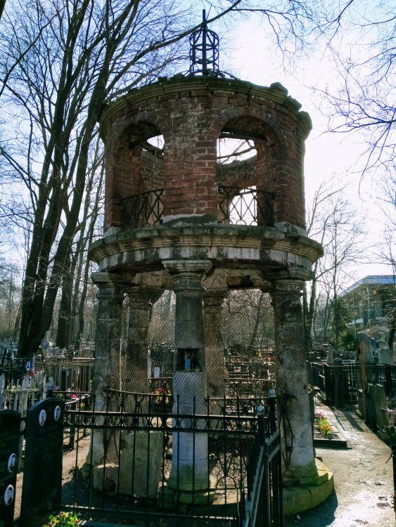 Часовня в память церкви Иоанна Милостивого на Ваганьковском кладбище, Москва