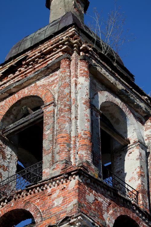Церковь Казанской иконы Божией Матери, Никольское на Ворсме (Никольский погост на Ворсме)