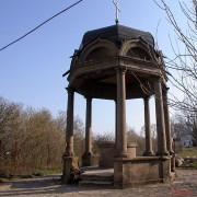Юрьево. Юрьев мужской монастырь. Часовня-сень над источником (киворий)