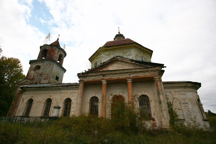 Церковь Вознесения Господня, Горомулино