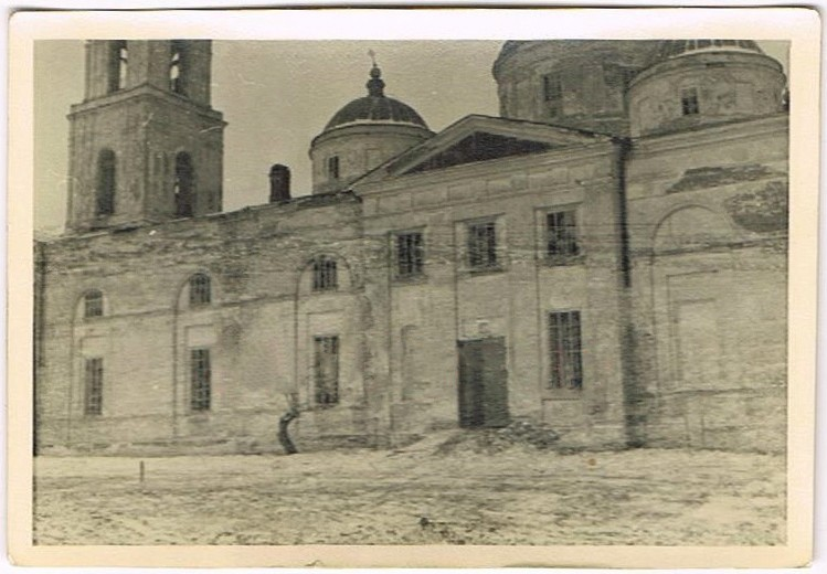 Церковь Михаила Архангела (старая), Тарановка