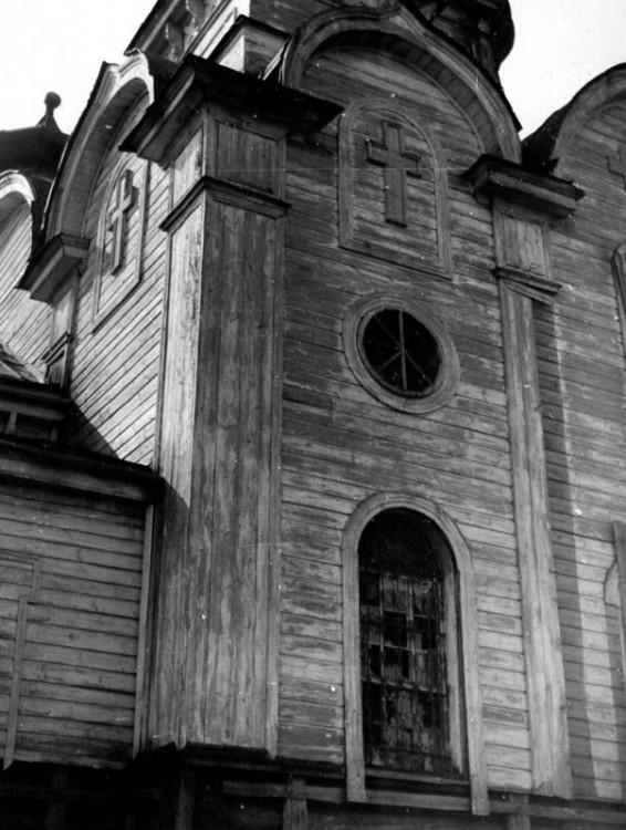 Республика Мордовия, Ичалковский район, Ведянцы. Церковь Богоявления Господня, фотография. архивная фотография, Фото из паспорта ОКН, 1976