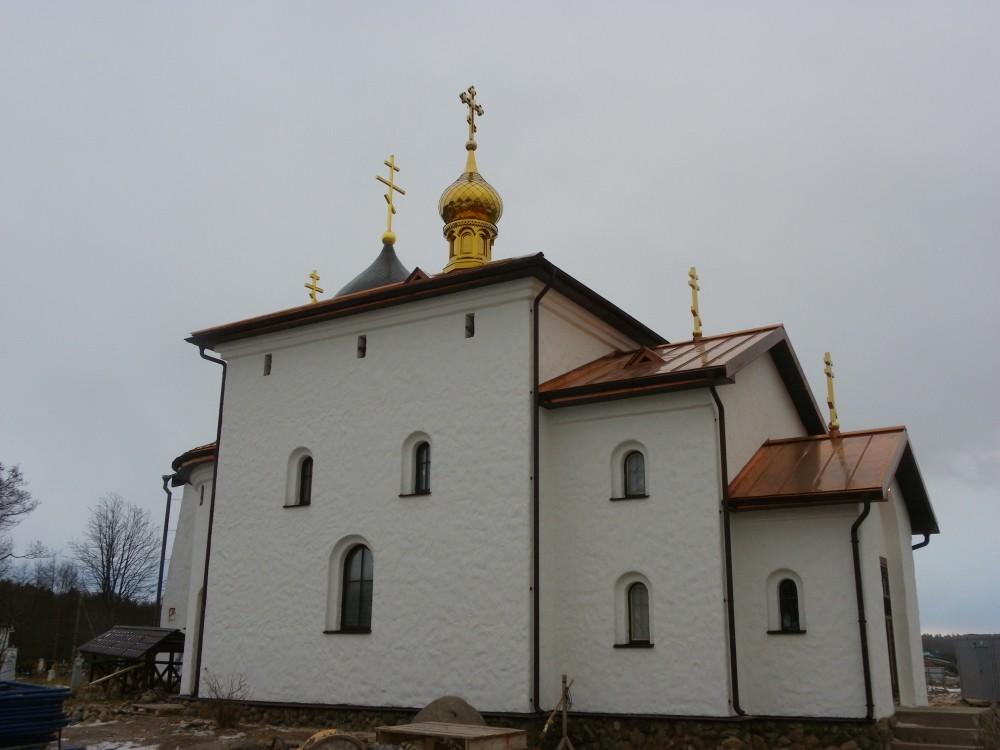 Николаевский Стороженский монастырь. Церковь Киприана Стороженского (новая), Сторожно