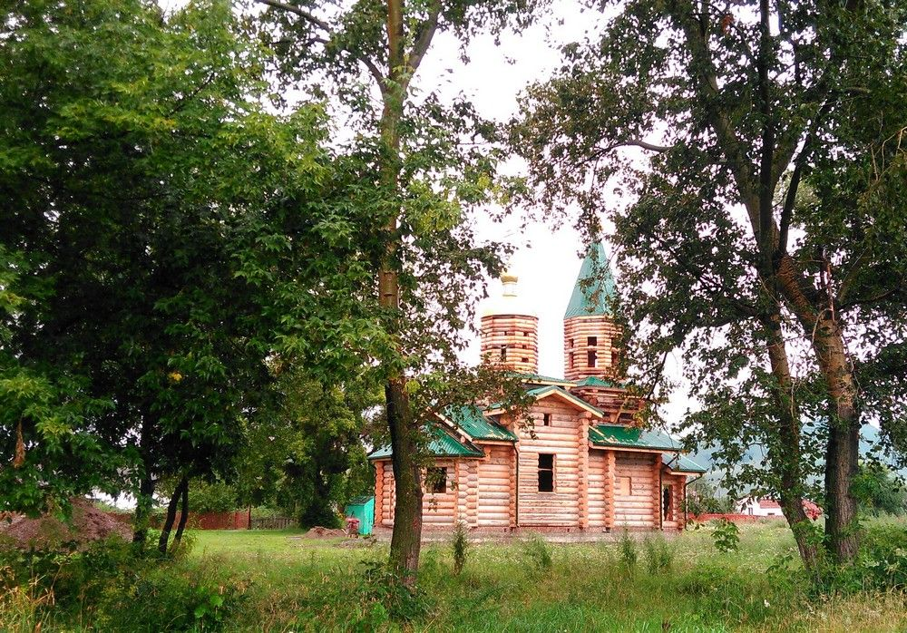 Церковь Иоанна Предтечи (новая), Солоновка