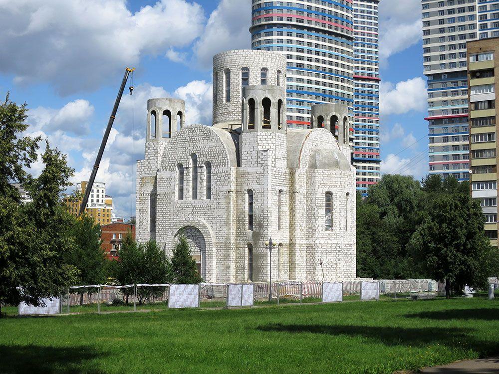 Церковь Кирилла и Мефодия в Ростокине (строящаяся), Москва
