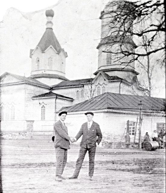 Брянская область, Климовский район, Соловьевка. Церковь Николая Чудотворца, фотография. архивная фотография