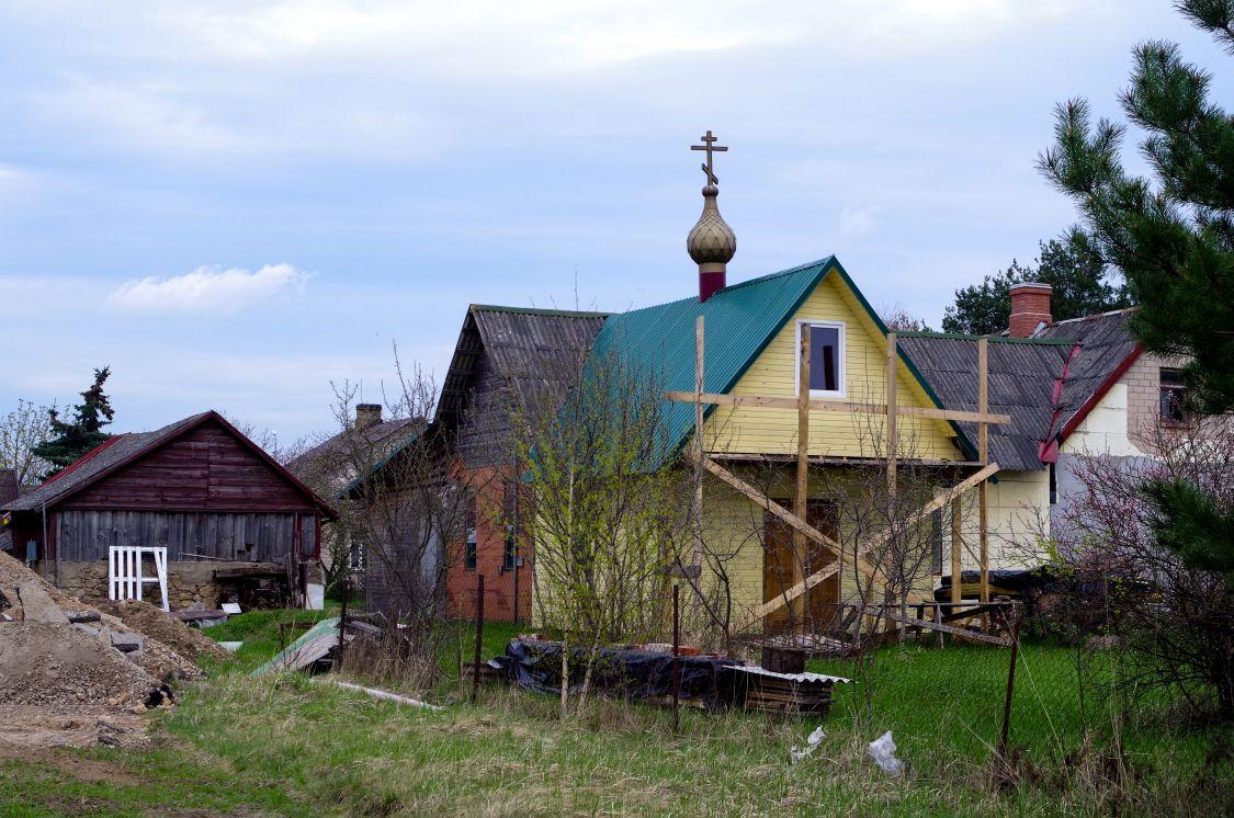 Латвия, Екабпилс, город, Екабпилс. Церковь Аввакума протопопа, фотография. фасады, Храм в процессе строительства.