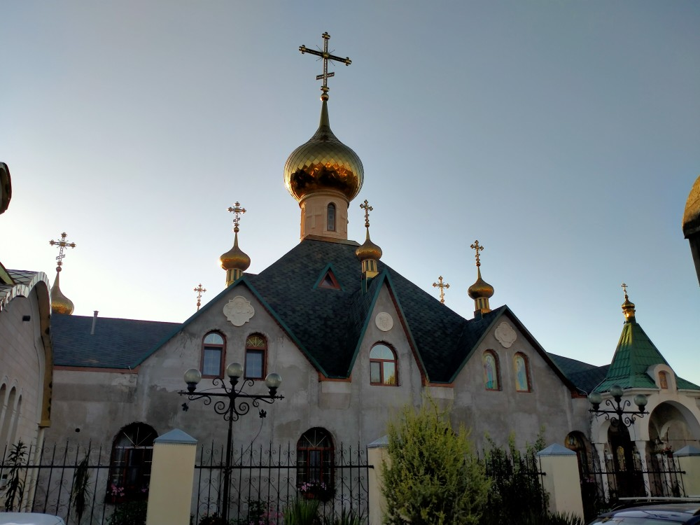 Республика Крым, Бахчисарайский район, Холмовка. Николаевский монастырь, фотография.
