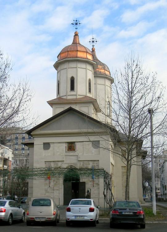 Румыния, Брэила, Брэила. Церковь Константина и Елены и Харалампия, фотография.