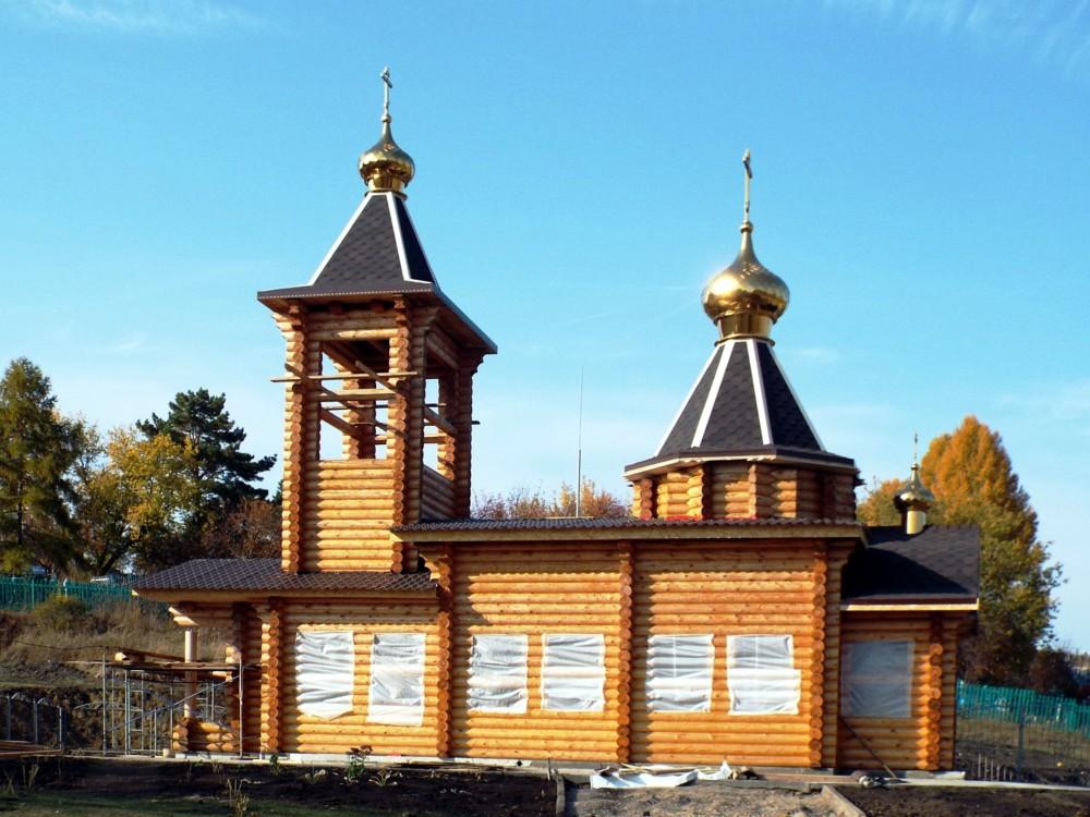 Республика Татарстан, Заинский район, Савалеево. Церковь Сошествия Святого Духа, фотография. фасады
