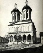 Бухарест, Сектор 4. Монастырь Вэкэрешти. Церковь Троицы Живоначальной