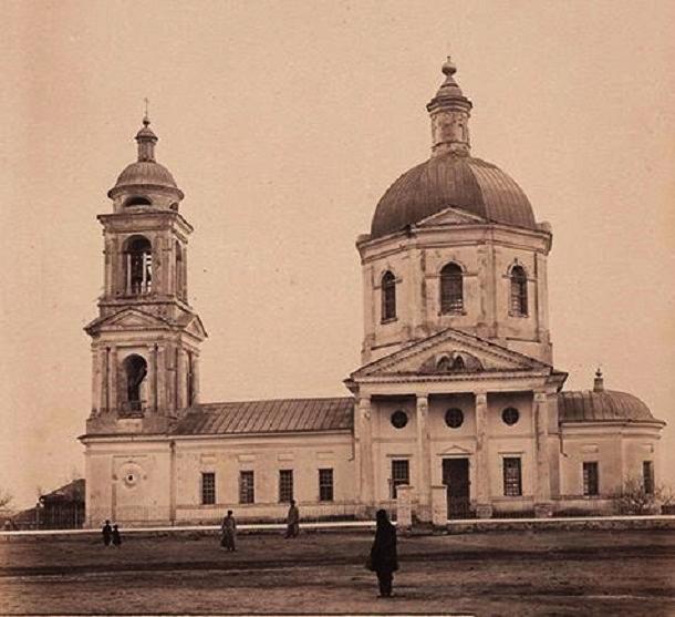 Церковь Михаила Архангела (утраченная), Алексеевская