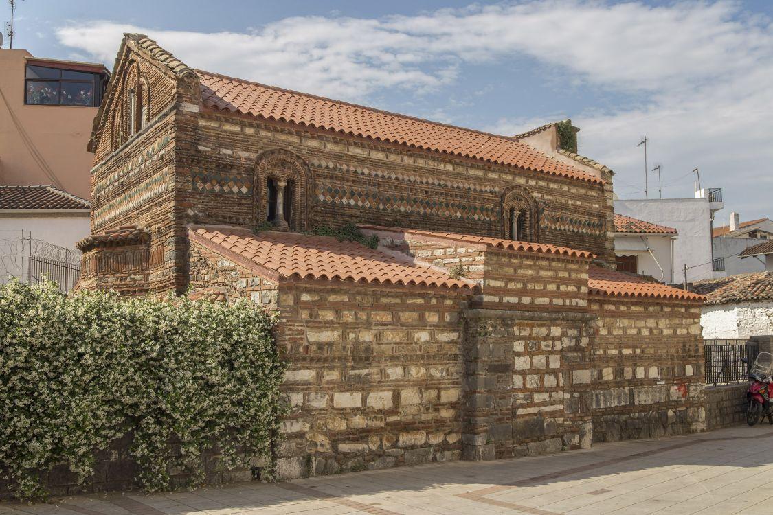 Греция, Эпир и Западная Македония, Арта. Церковь Василия Великого, фотография. фасады, вид с северо-востока
