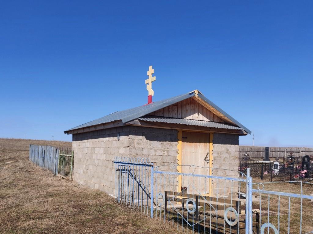 Республика Татарстан, Чистопольский район, Большой Толкиш. Неизвестная часовня, фотография. фасады