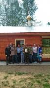 Часовня Тихона Луховского - Большие Рымы - Макарьевский район - Костромская область