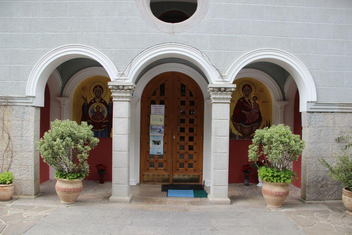 Республика Крым, Ялта, город, Ливадия. Церковь иконы Божией Матери