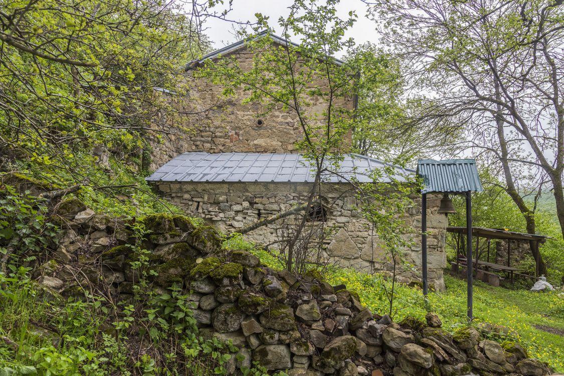 Прочие страны, Южная Осетия, Армази. Церковь Георгия Победоносца, фотография. фасады, вид с запада