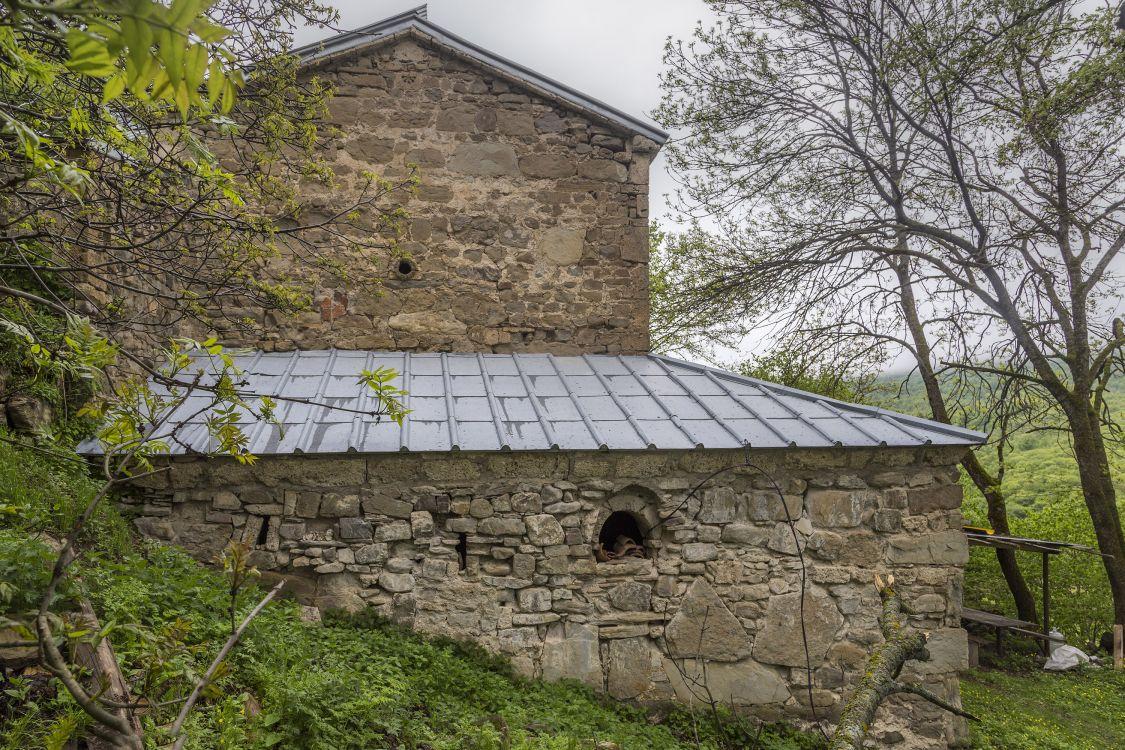 Прочие страны, Южная Осетия, Армази. Церковь Георгия Победоносца, фотография. фасады, западный фасад