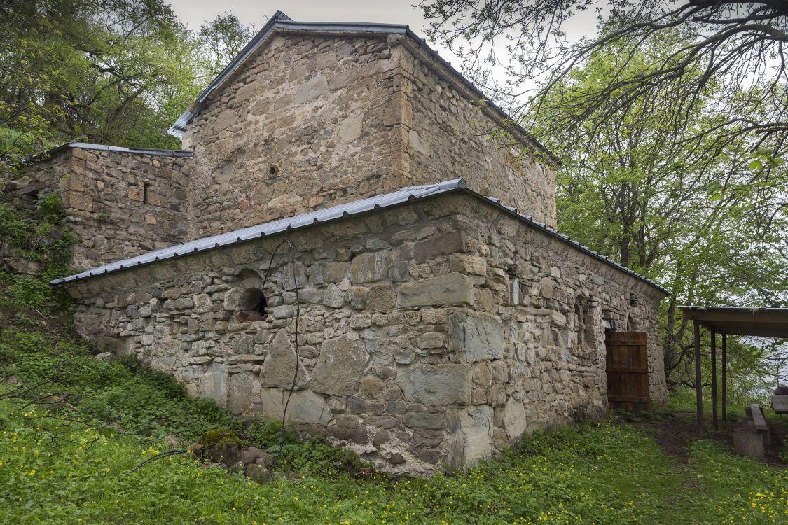 Прочие страны, Южная Осетия, Армази. Церковь Георгия Победоносца, фотография. фасады, вид с юго-запада