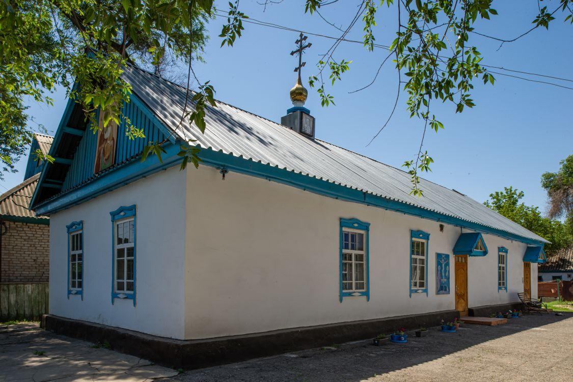 Казахстан, Алматинская область, Уштобе. Домовая церковь Михаила Архангела, фотография. фасады