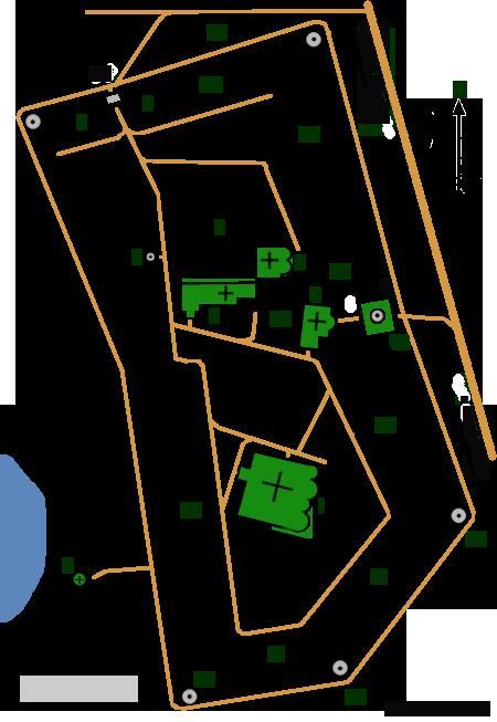 План Саввино-Сторожевского монастыря, Звенигород