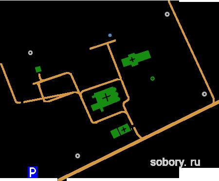 План Троицкого монастыря, Муром