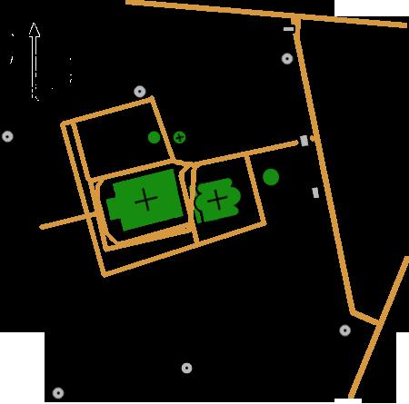 План Покровского монастыря, Москва