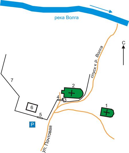 План Макариева Решемского монастыря, Ивановская область