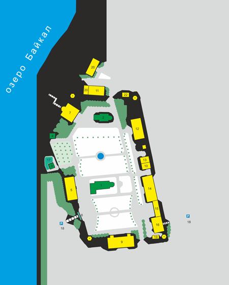План Посольского Спасо-Преображенского монастыря, Республика Бурятия
