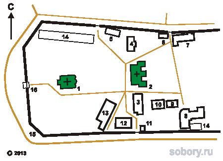 План общины Отрада и Утешение в Добрынихе